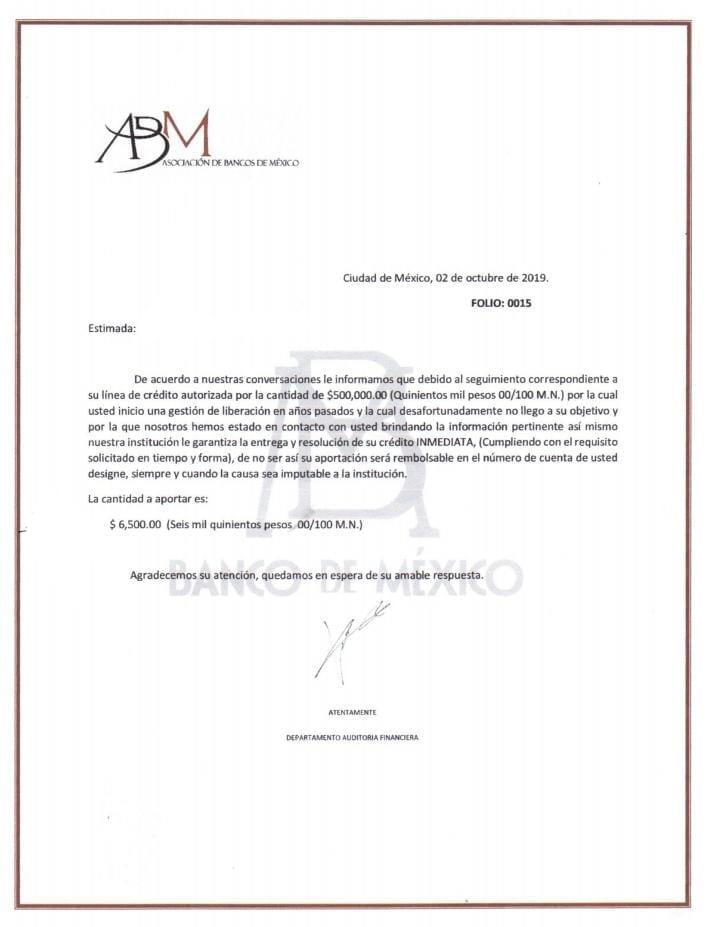 documento apócrifo abm